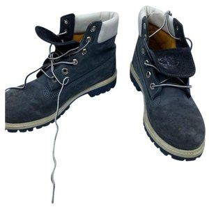 Timberland Black White Women's Winter Boots Size 6